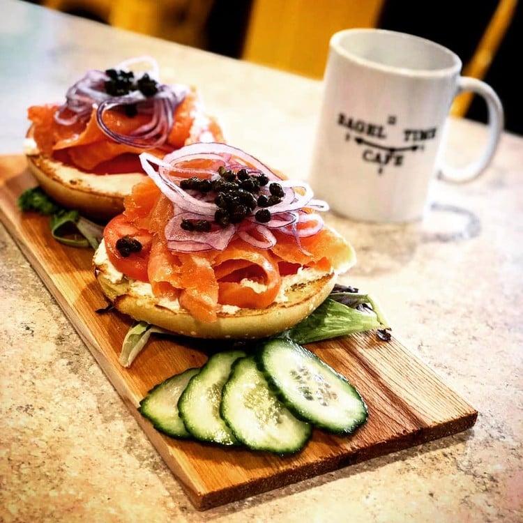 Bagel Time Cafe - Server 4