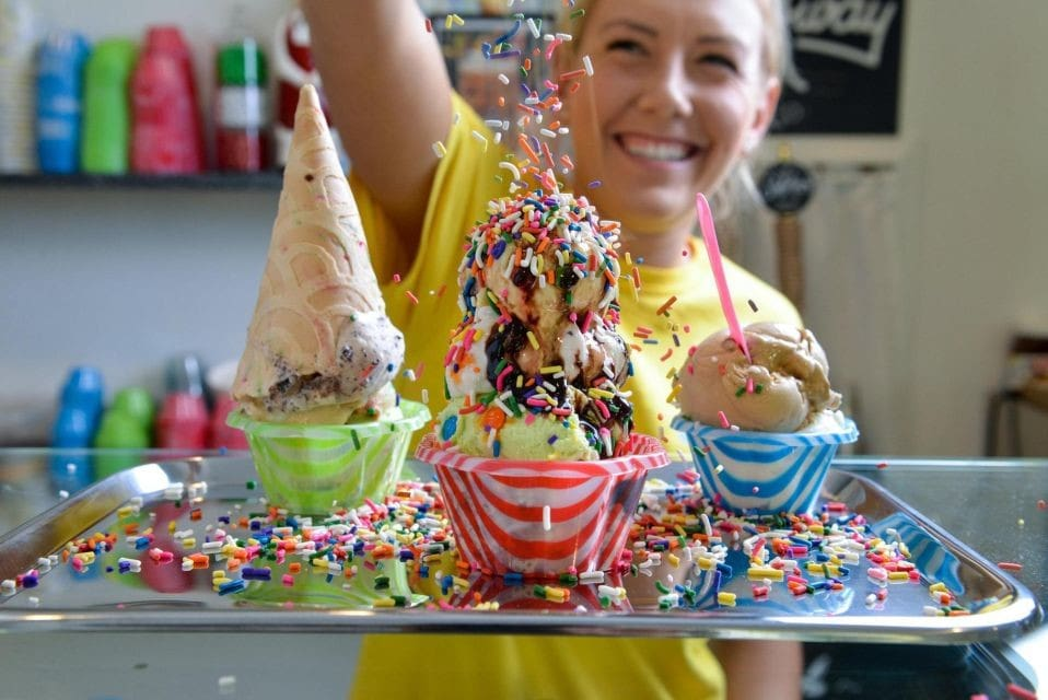Beach Treats - Ice Cream Server