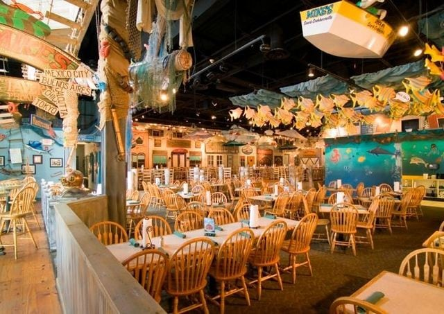 Capatain Jack's Seafood Buffet - Busser 7.25$ + tips