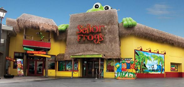 Senior Frogs - Food Runner 6.00$ + tips